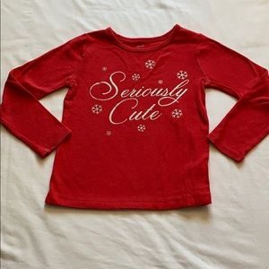 Carter's Christmas shirt